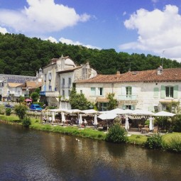 Historic town of Brantome